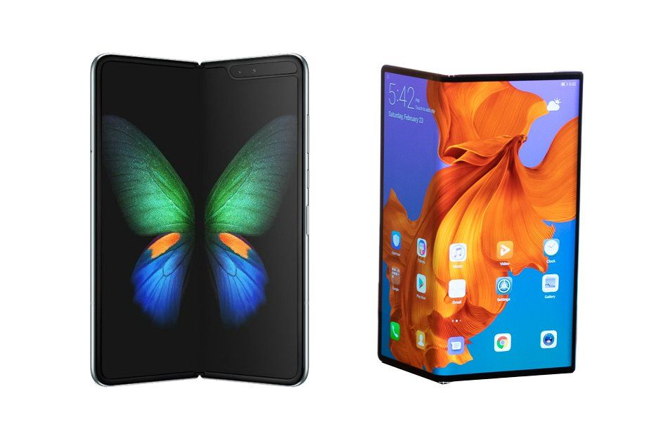 Smartphone Pliable Comparatif smartphone Galaxy Fold vs Huawei Mate X
